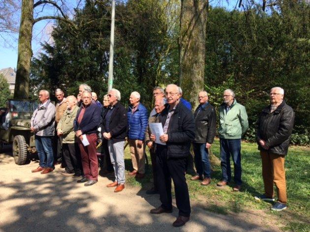 Herdenking 74 jaar bevrijding Dieren